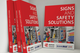 spectrum industriall-safety solutions-graphic design-literature-content creation
